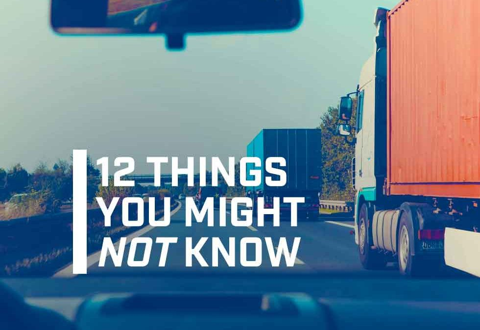 Truck Driver Facts: Top 12 Things You Might Not Know