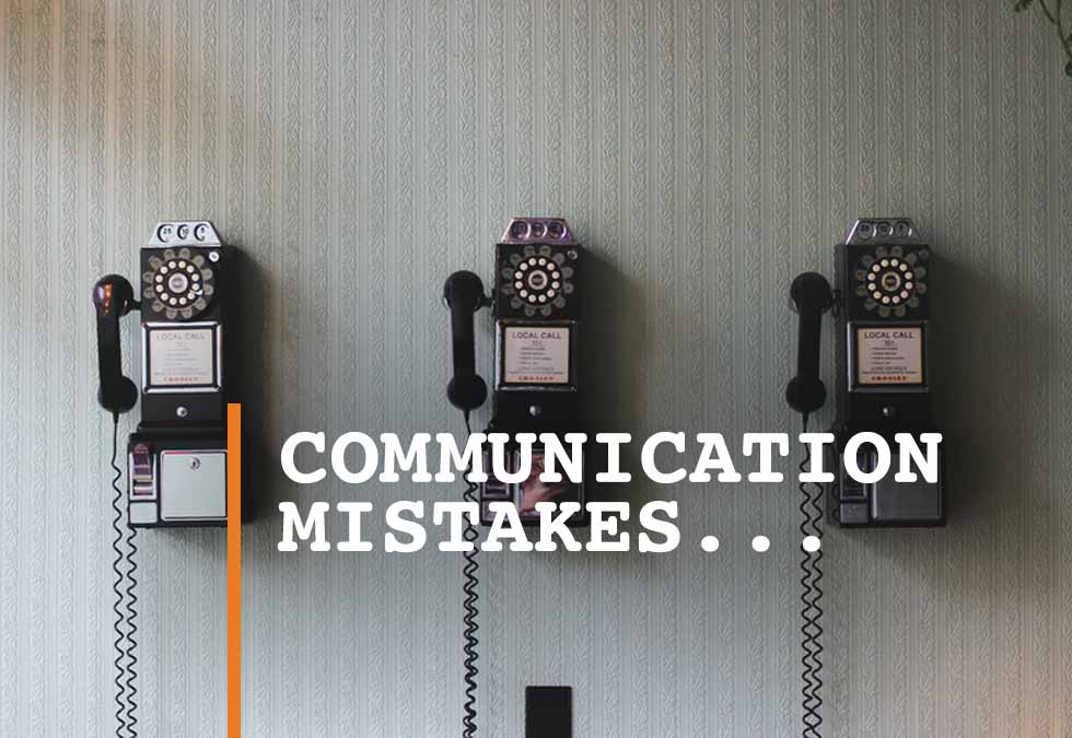 Communication Mistakes Freight Agents Make