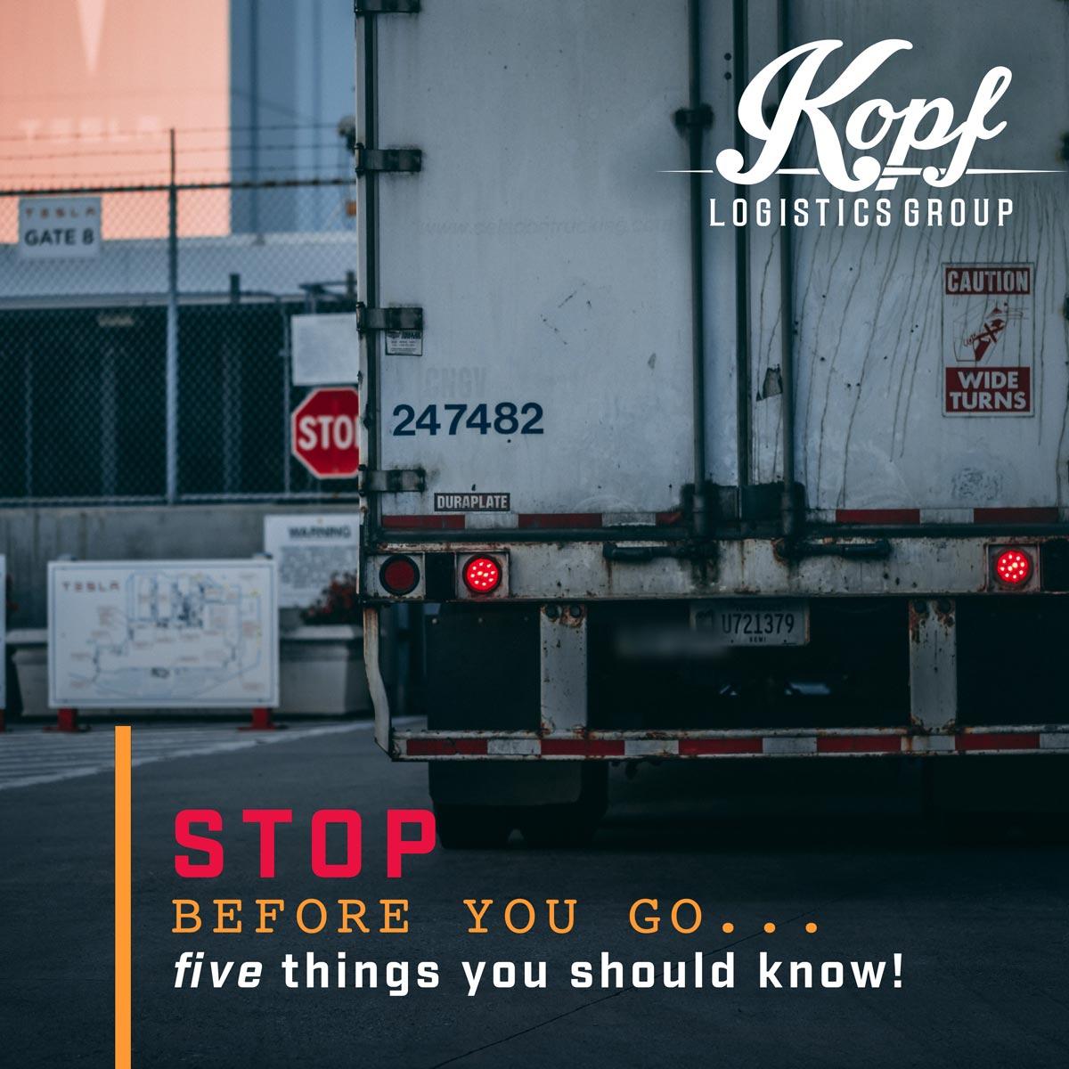 Kopf Logistics Group